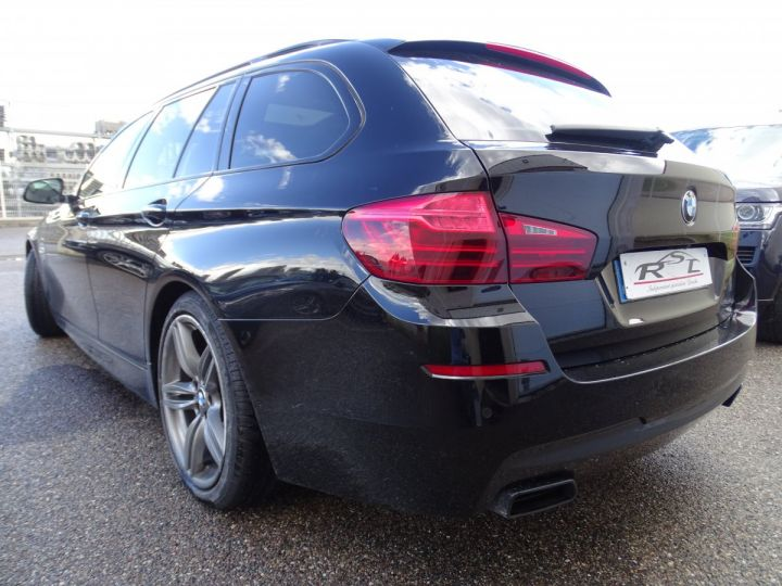 BMW Série 5 M550D X Drive BVA 381Ps /TOE pano Camera Memoire H.kardon ... noir - 6