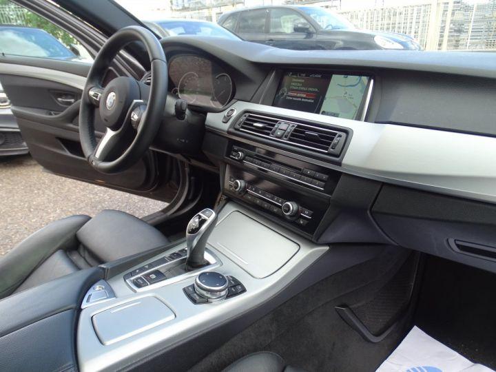 BMW Série 5 M550D X Drive BVA 381Ps /TOE pano Camera Memoire H.kardon ... noir - 11