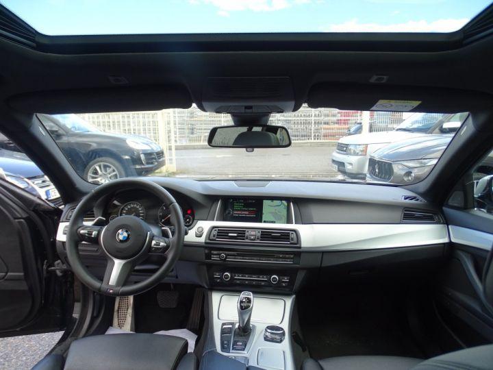 BMW Série 5 M550D X Drive BVA 381Ps /TOE pano Camera Memoire H.kardon ... noir - 12