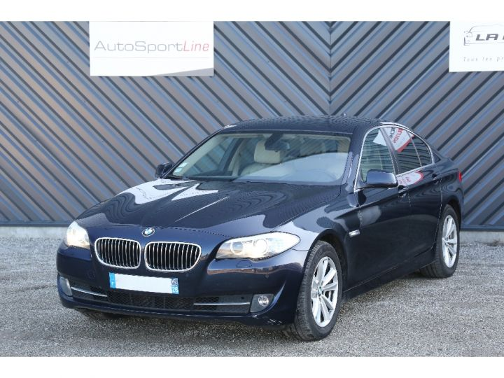BMW Série 5 SERIE 520d 184ch Luxe BLEU - 1