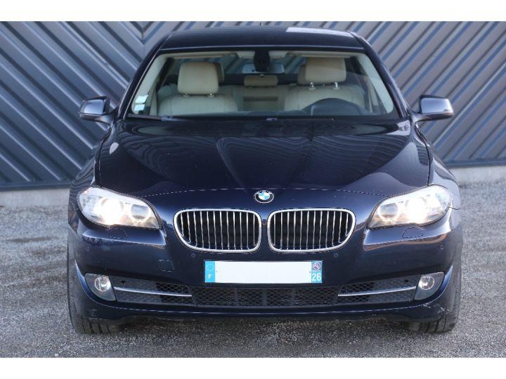 BMW Série 5 SERIE 520d 184ch Luxe BLEU - 2