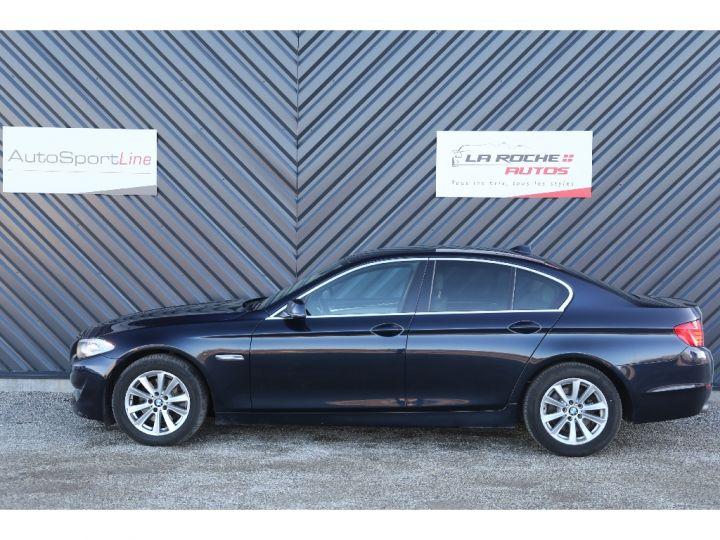 BMW Série 5 SERIE 520d 184ch Luxe BLEU - 3