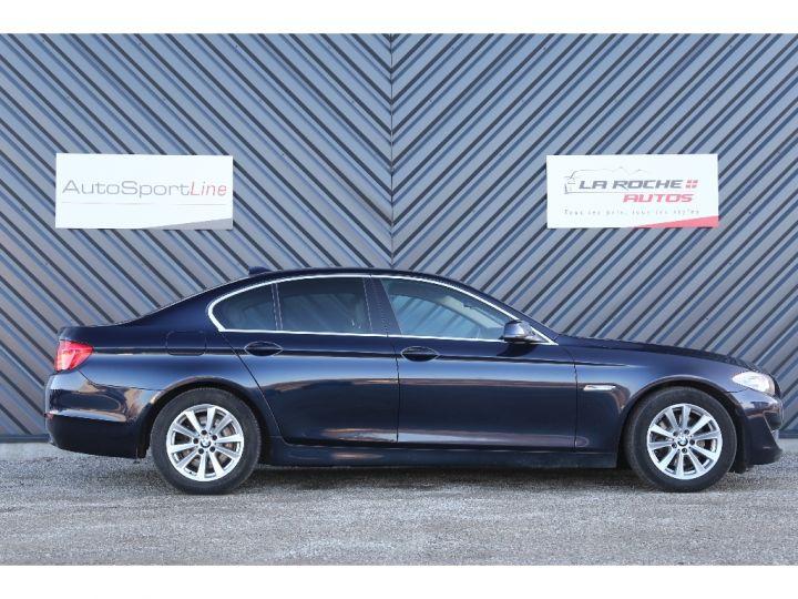 BMW Série 5 SERIE 520d 184ch Luxe BLEU - 4