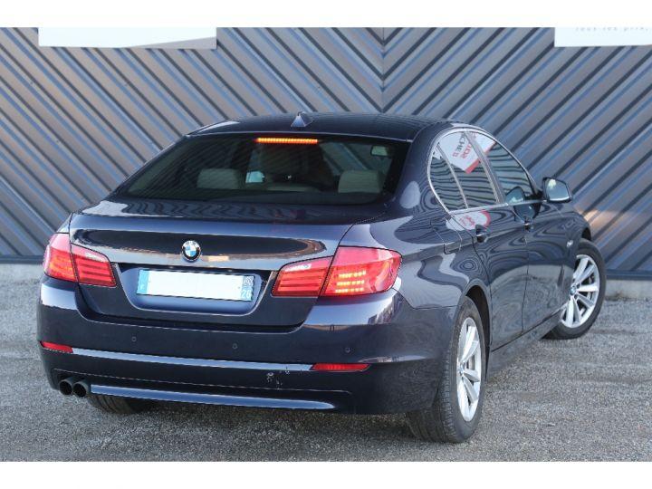 BMW Série 5 SERIE 520d 184ch Luxe BLEU - 5