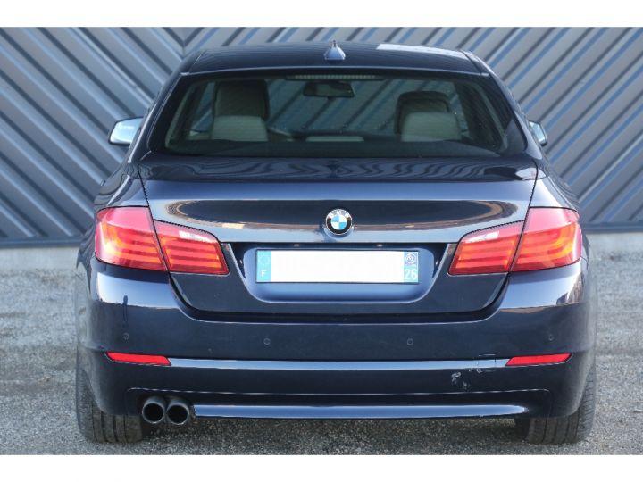 BMW Série 5 SERIE 520d 184ch Luxe BLEU - 6