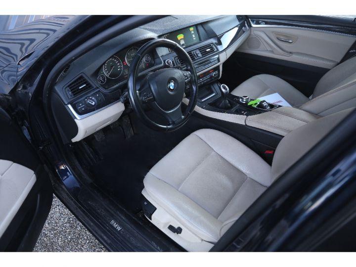 BMW Série 5 SERIE 520d 184ch Luxe BLEU - 7