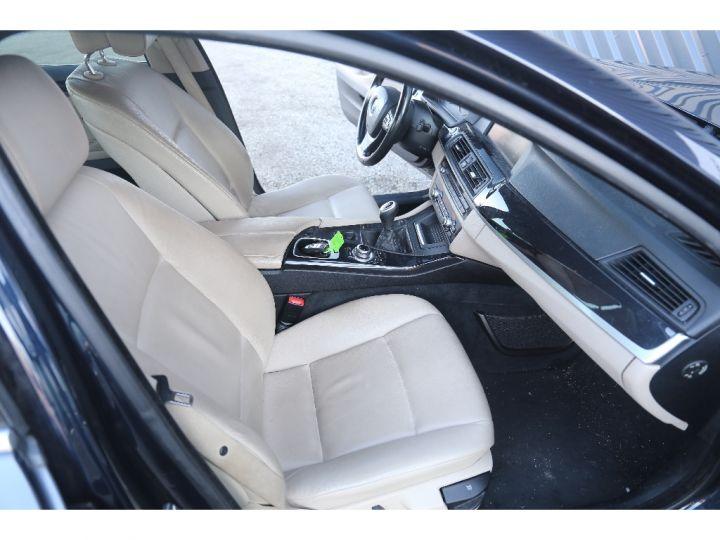 BMW Série 5 SERIE 520d 184ch Luxe BLEU - 8