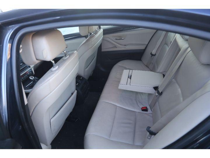 BMW Série 5 SERIE 520d 184ch Luxe BLEU - 10
