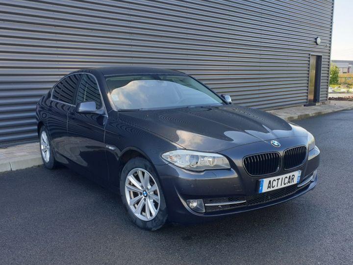 BMW Série 5 serie f10 520d 184 luxe bva i Gris Foncé Occasion - 2
