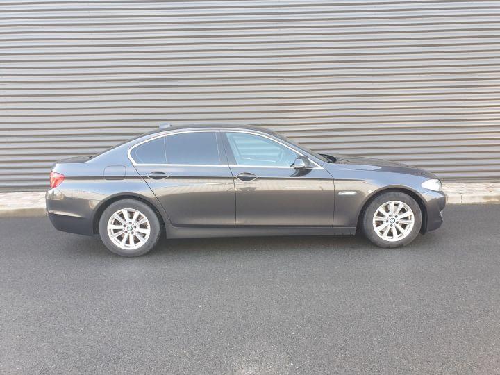 BMW Série 5 serie f10 520d 184 luxe bva i Gris Foncé Occasion - 3