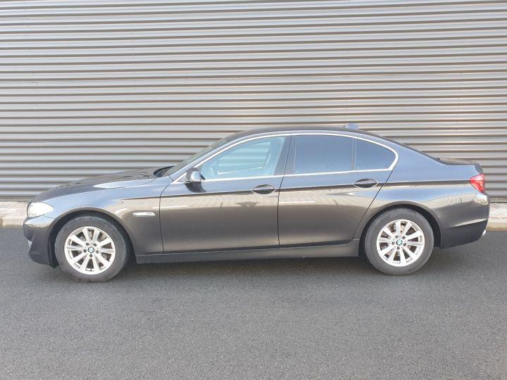 BMW Série 5 serie f10 520d 184 luxe bva i Gris Foncé Occasion - 4