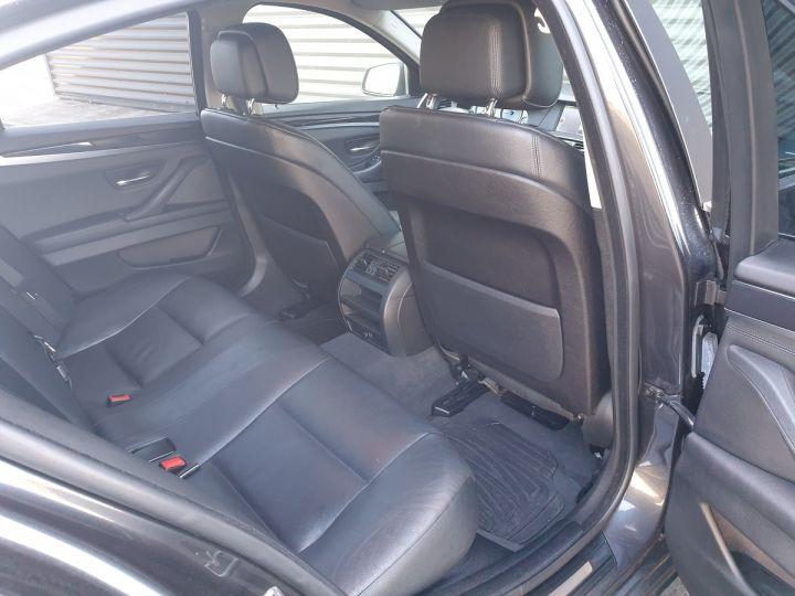 BMW Série 5 serie f10 520d 184 luxe bva i Gris Foncé Occasion - 6