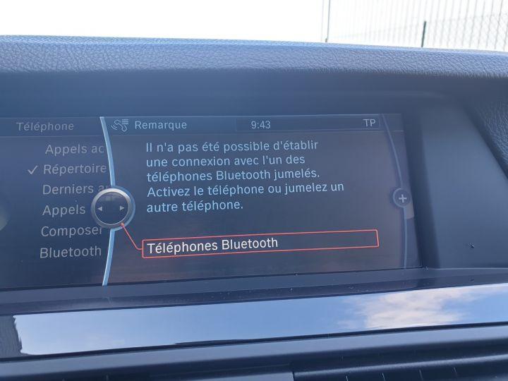 BMW Série 5 serie f10 520d 184 luxe bva i Gris Foncé Occasion - 11