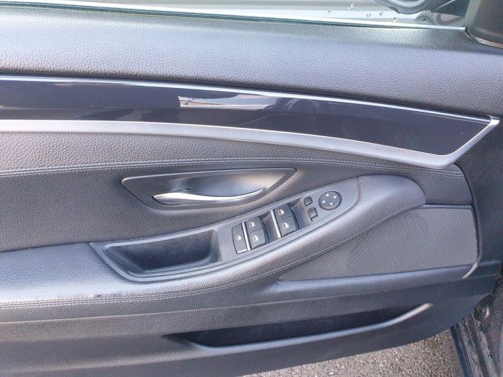 BMW Série 5 serie f10 520d 184 luxe bva i Gris Foncé Occasion - 14