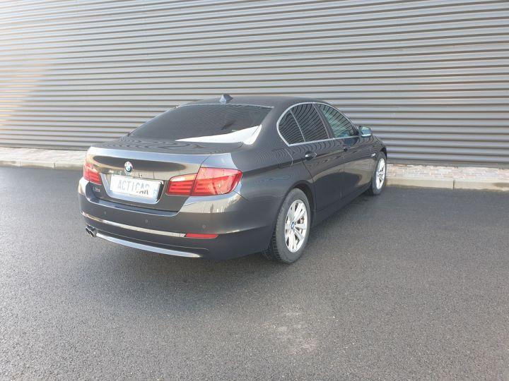 BMW Série 5 serie f10 520d 184 luxe bva i Gris Foncé Occasion - 19