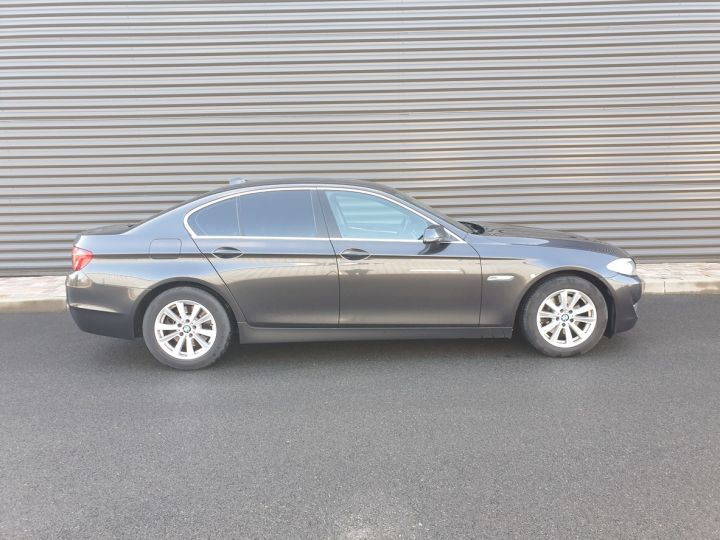 BMW Série 5 serie f10 520d 184 luxe bva ii Gris Foncé Occasion - 3