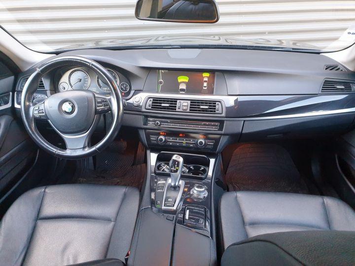 BMW Série 5 serie f10 520d 184 luxe bva ii Gris Foncé Occasion - 5