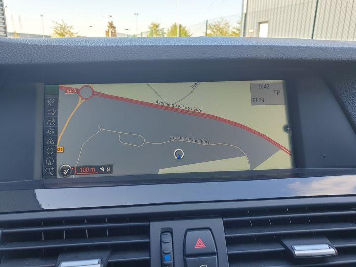 BMW Série 5 serie f10 520d 184 luxe bva ii Gris Foncé Occasion - 10