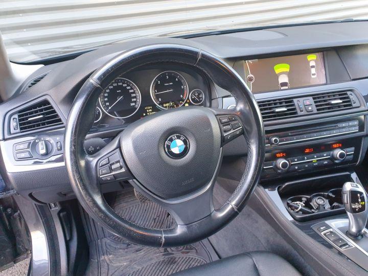 BMW Série 5 serie f10 520d 184 luxe bva ii Gris Foncé Occasion - 12