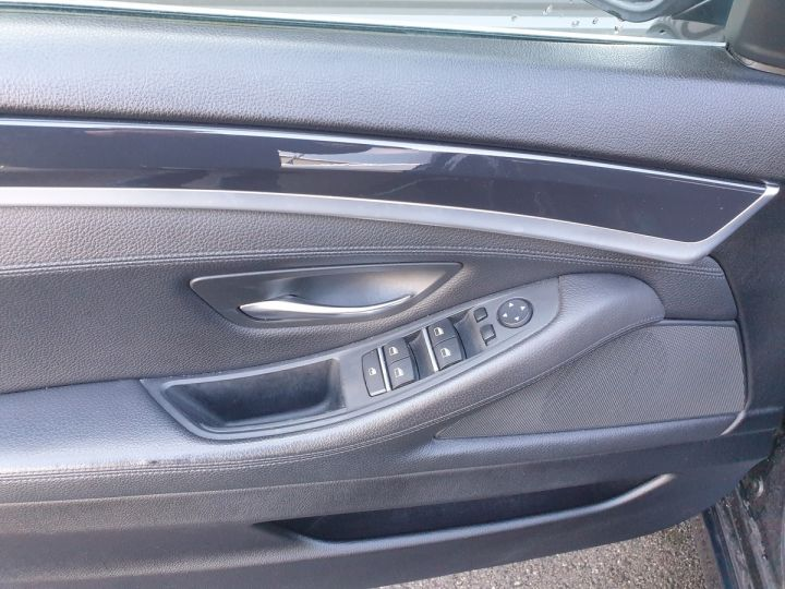 BMW Série 5 serie f10 520d 184 luxe bva ii Gris Foncé Occasion - 14