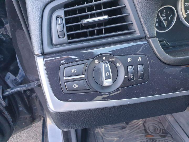 BMW Série 5 serie f10 520d 184 luxe bva ii Gris Foncé Occasion - 15