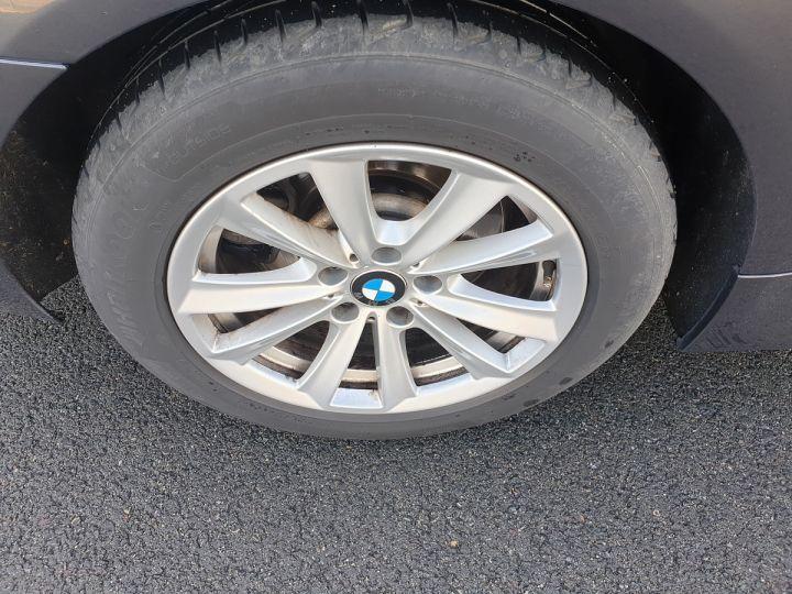 BMW Série 5 serie f10 520d 184 luxe bva ii Gris Foncé Occasion - 18