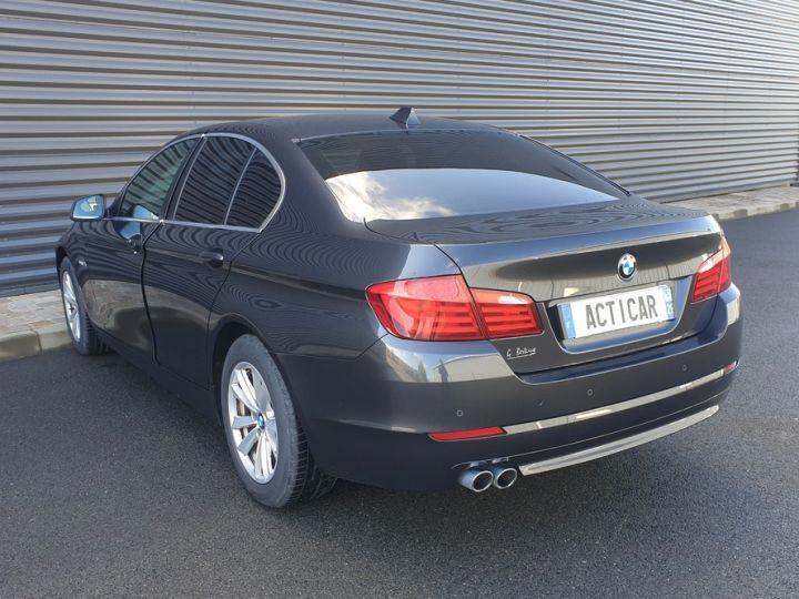 BMW Série 5 serie f10 520d 184 luxe bva ii Gris Foncé Occasion - 20