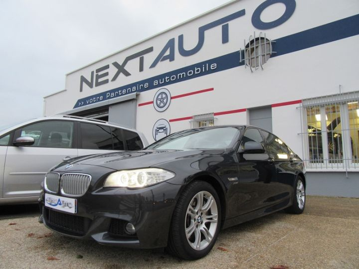 BMW Série 5 SERIE F10 550IA XDRIVE 407CH SPORT DESIGN Gris Fonce Occasion - 1