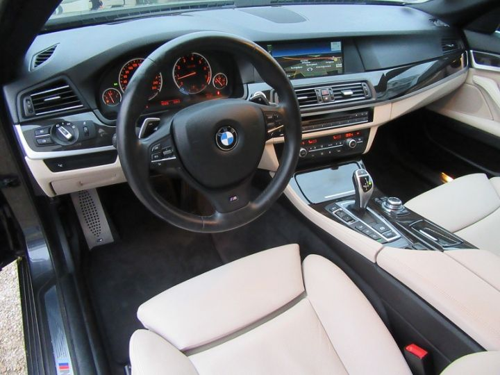BMW Série 5 SERIE F10 550IA XDRIVE 407CH SPORT DESIGN Gris Fonce Occasion - 2