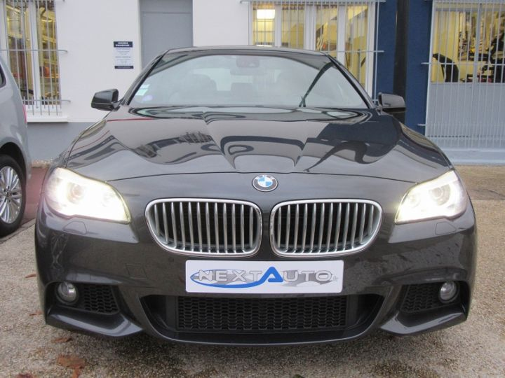 BMW Série 5 SERIE F10 550IA XDRIVE 407CH SPORT DESIGN Gris Fonce Occasion - 6