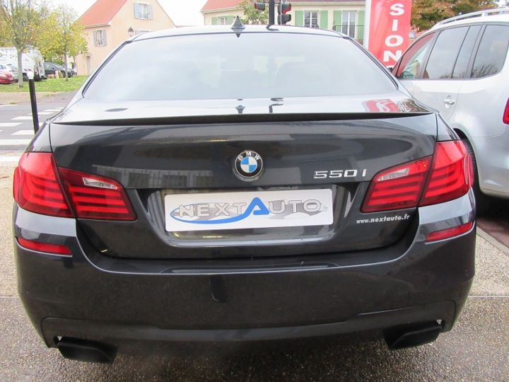 BMW Série 5 SERIE F10 550IA XDRIVE 407CH SPORT DESIGN Gris Fonce Occasion - 7
