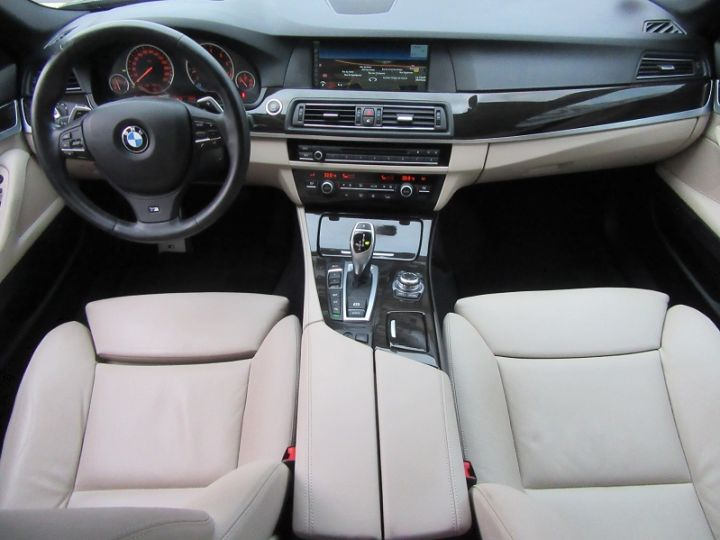 BMW Série 5 SERIE F10 550IA XDRIVE 407CH SPORT DESIGN Gris Fonce Occasion - 8