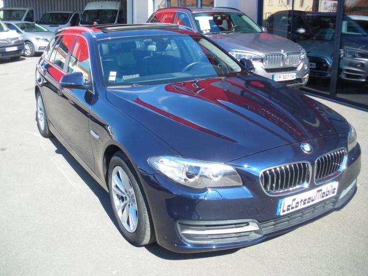 BMW Série 5 Touring 520 D 190 CV Bleu - 2