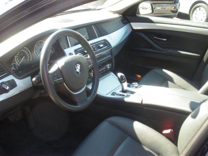 BMW Série 5 Touring 520 D 190 CV Bleu - 3
