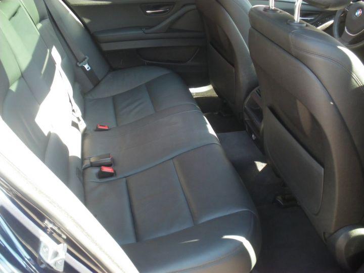 BMW Série 5 Touring 520 D 190 CV Bleu - 9