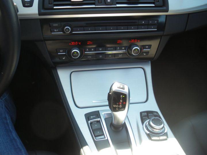 BMW Série 5 Touring 520 D 190 CV Bleu - 14