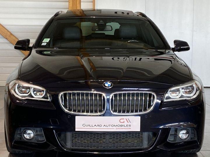 BMW Série 5 Touring 520 D TOURING XDRIVE M-SPORT 190ch (F11) BVA8 BLEU FONCE - 2