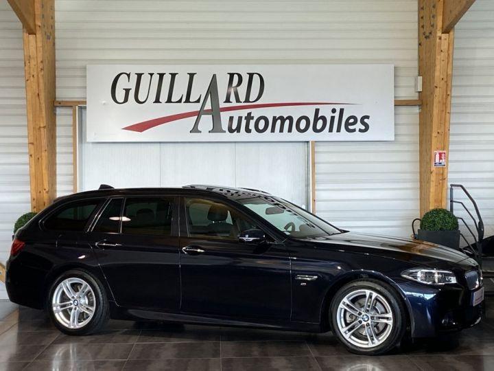 BMW Série 5 Touring 520 D TOURING XDRIVE M-SPORT 190ch (F11) BVA8 BLEU FONCE - 4
