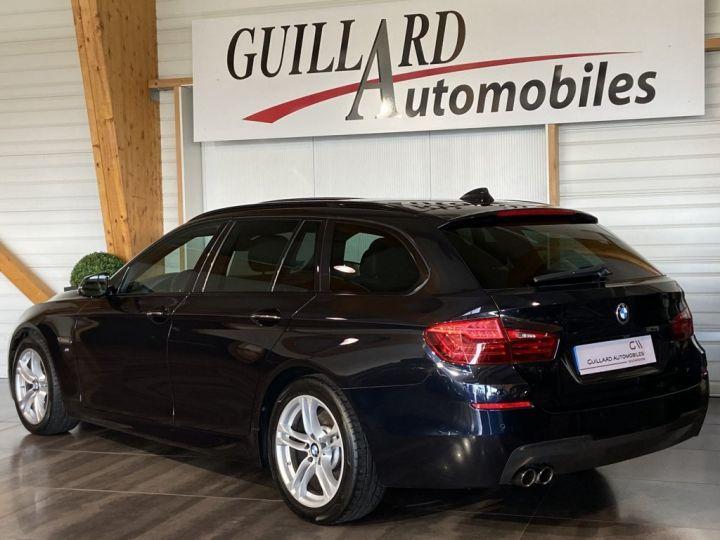 BMW Série 5 Touring 520 D TOURING XDRIVE M-SPORT 190ch (F11) BVA8 BLEU FONCE - 6