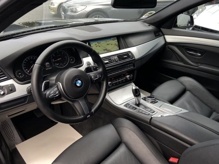 BMW Série 5 Touring 520 D TOURING XDRIVE M-SPORT 190ch (F11) BVA8 BLEU FONCE - 9