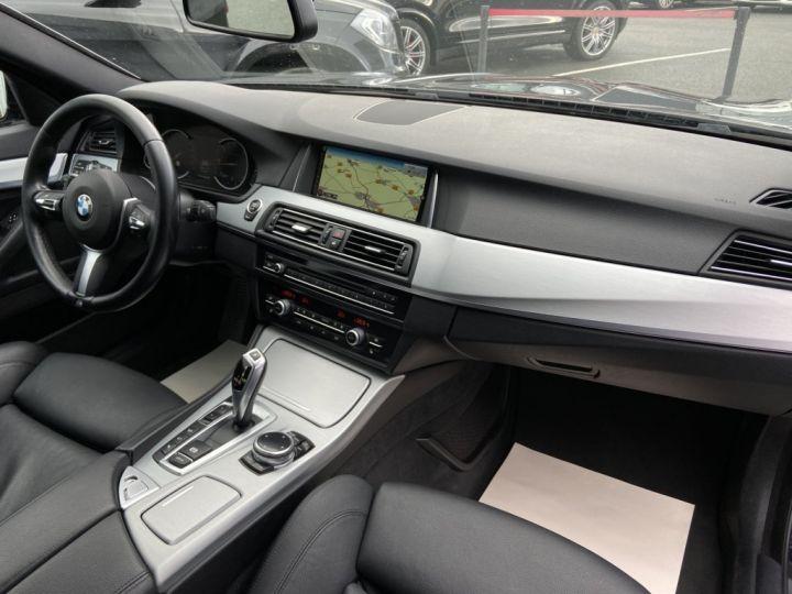 BMW Série 5 Touring 520 D TOURING XDRIVE M-SPORT 190ch (F11) BVA8 BLEU FONCE - 11