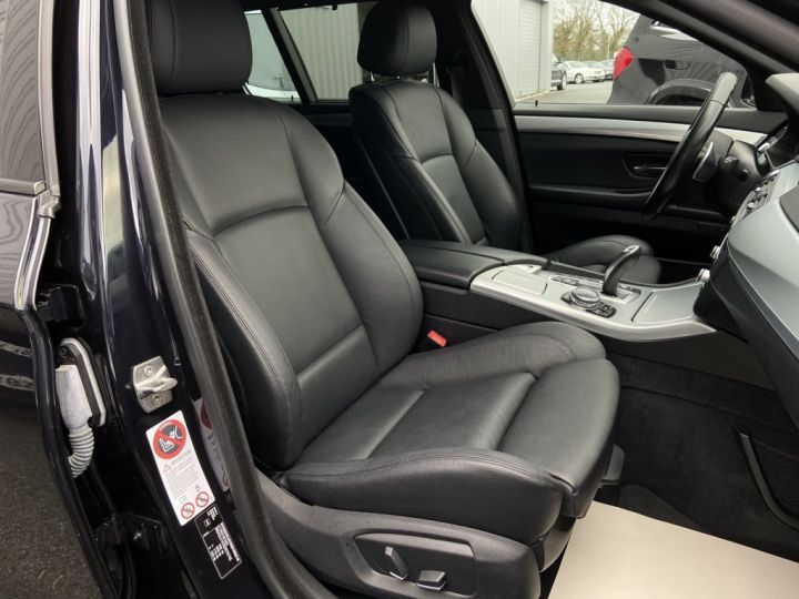BMW Série 5 Touring 520 D TOURING XDRIVE M-SPORT 190ch (F11) BVA8 BLEU FONCE - 14