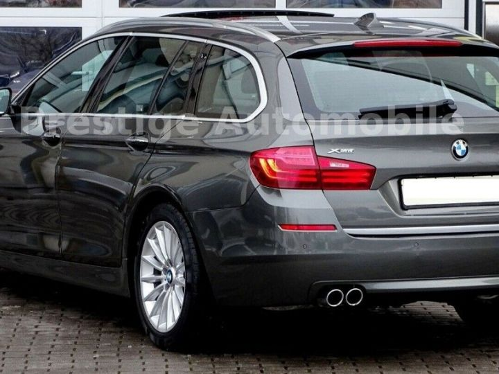 BMW Série 5 Touring 530 XDRIVE 258 LUXURY  gris daytona métal - 2