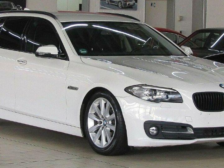 BMW Série 5 Touring 530D 258 LOUNGE BVA8 03/2015 Blanc métal  - 1
