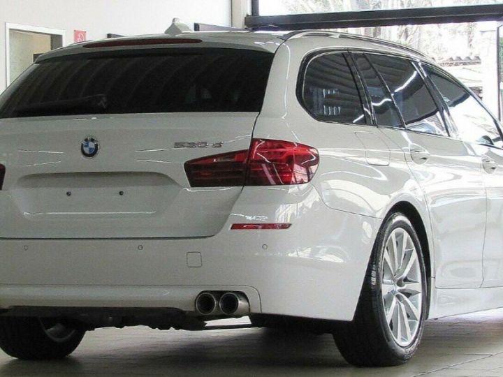 BMW Série 5 Touring 530D 258 LOUNGE BVA8 03/2015 Blanc métal  - 2