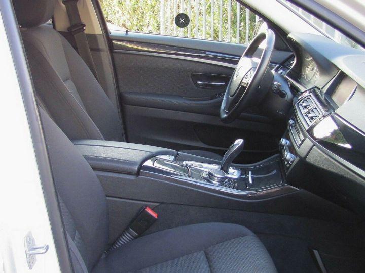 BMW Série 5 Touring 530D 258 LOUNGE BVA8 03/2015 Blanc métal  - 8