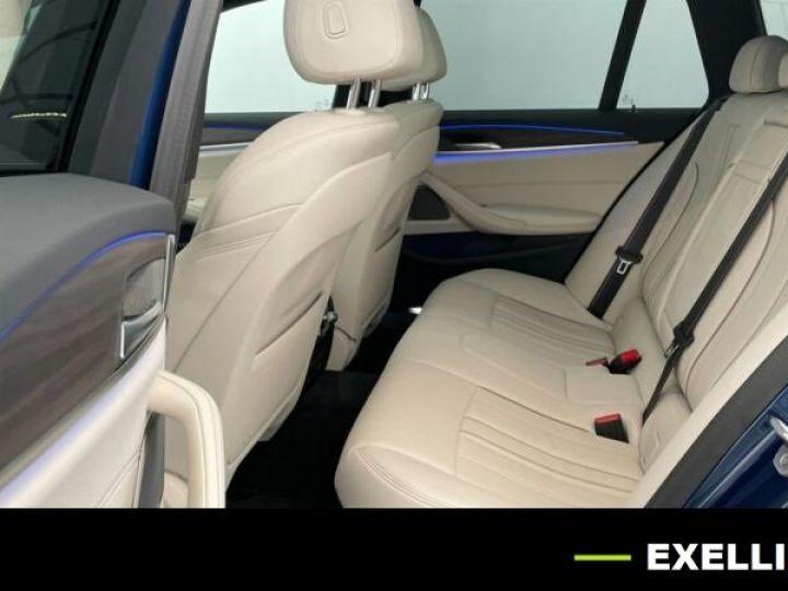BMW Série 5 Touring 530D XDRIVE EDITION AERO M BVA 286cv BLEU PHYTON  Occasion - 6