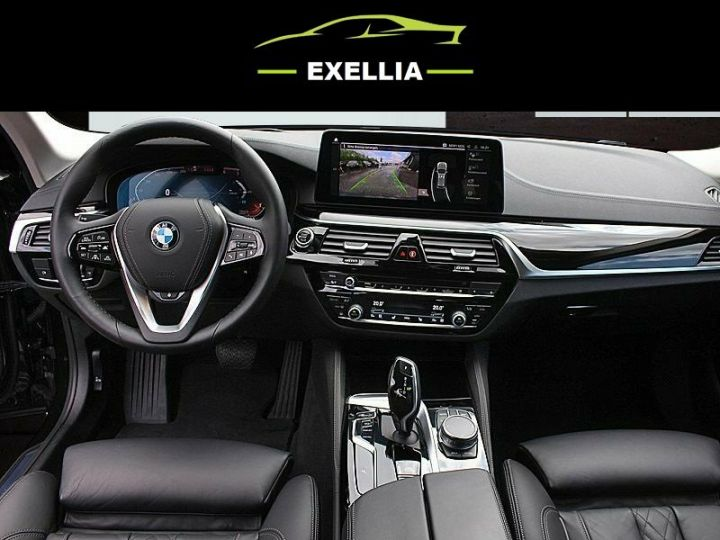 BMW Série 5 Touring 530D XDRIVE LUXURY BVA 286 cv NOIR Occasion - 2