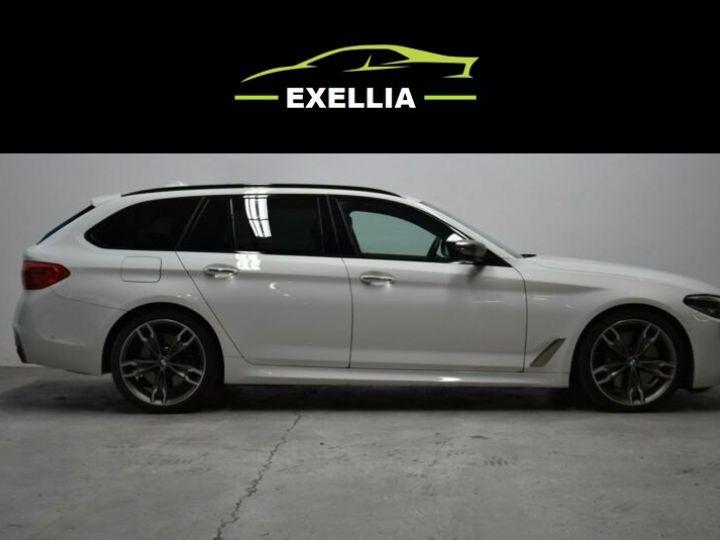 BMW Série 5 Touring 550 D X DRIVE  BLANC  Occasion - 4