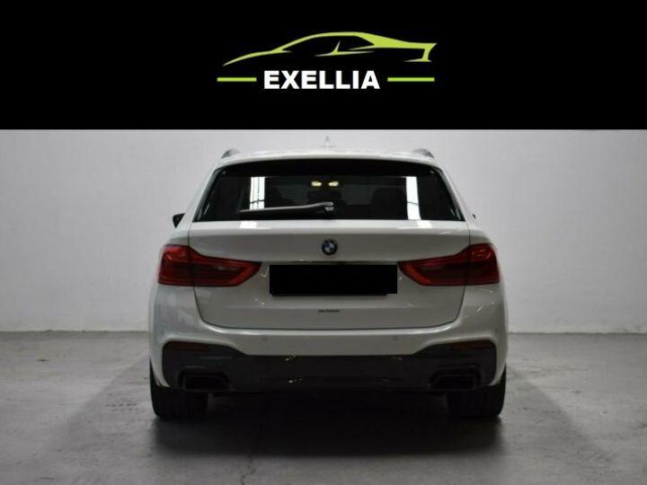 BMW Série 5 Touring 550 D X DRIVE  BLANC  Occasion - 12